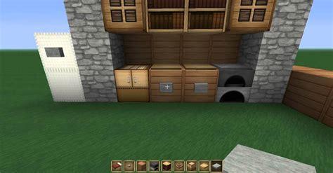 une cuisine minecraft crée une cuisine moderne