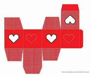 10 cajitas imprimibles para el 14 de febrero Manualidades