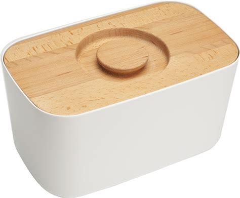 ustensile de cuisine joseph joseph design boîte à mélamine couvercle planche à découper blanc