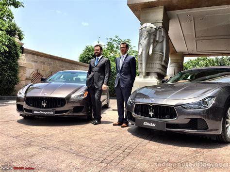 maserati india official maserati returns to india team bhp