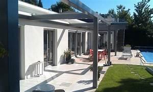 Pergola Toit Coulissant : pergola alu rideau coulissant au toit ~ Melissatoandfro.com Idées de Décoration