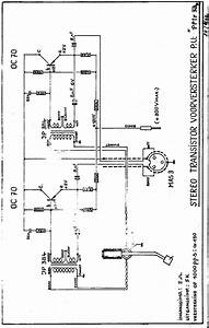 Carad Pptr33 B Oc70 Oc71 Transistor Stereo Pre Amplifier