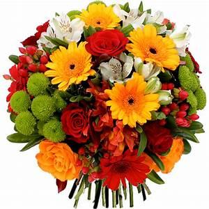Bouquet De Fleurs : comment faire un bouquet rond techniques et styles le blog fleursinfo ~ Teatrodelosmanantiales.com Idées de Décoration