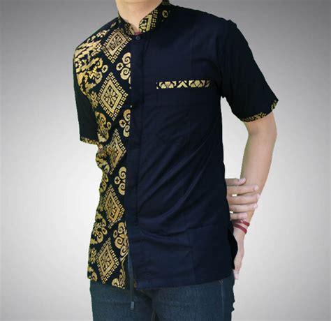 busanamuslim  contoh model baju batik pria lengan