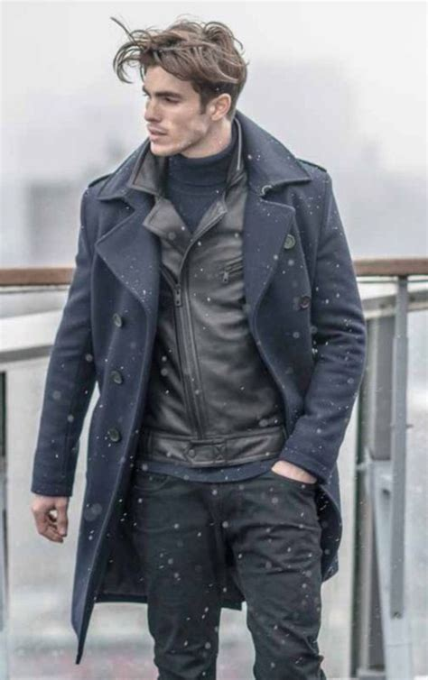 44 best Menu0026#39;s Winter Outfits images on Pinterest | Fall winter Man style and Men fashion
