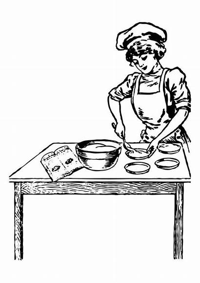 Chef Female Coloring