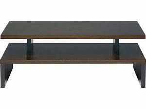 Conforama Table Basse : table basse wenge conforama ~ Teatrodelosmanantiales.com Idées de Décoration
