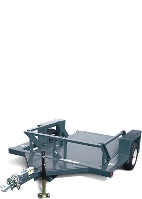 jlg drop deck utility trailer 4610 flatbed trailer jlg