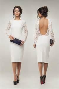 cocktail dresses for weddings white wedding dress lace dress knee length cocktail dress open back evening dress 2418327