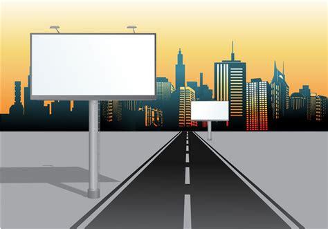roll up banner indoor billboard vector hoarding free vector