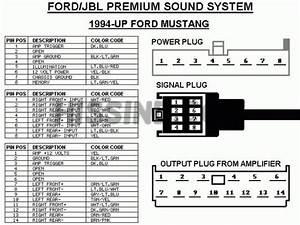 Mustang Mach Sound System Wiring Diagram
