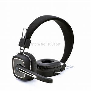 Bluetooth 4 0 Headband Bass Headphones With Microphone