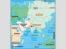 Pakistan Map Geography of Pakistan Map of Pakistan