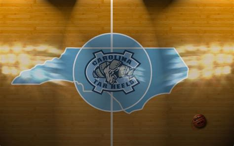 North Carolina Tar Heels Basketball Court