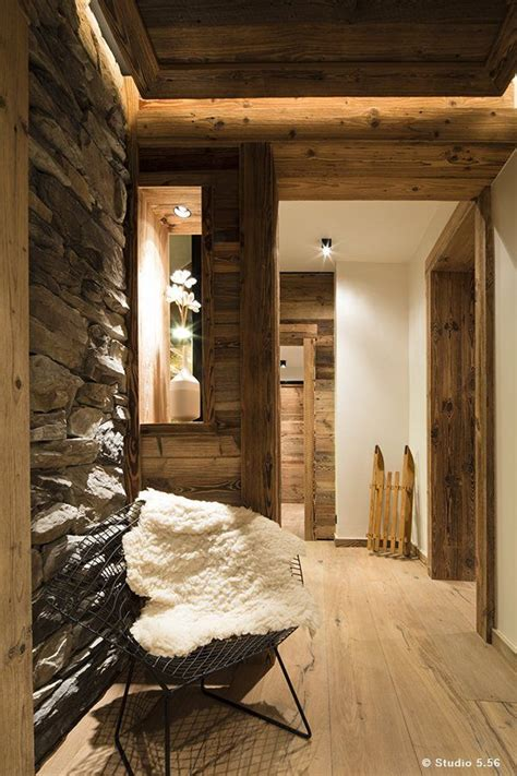130 Year Savoie Stable Turned Luxurious Mountain Retreat by Chalet Meribel Les Allues 2015 Agence Damien Carreres