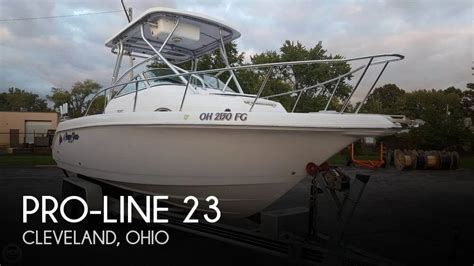 Used Proline Boats For Sale In Ohio by Pro Line 23 Boat For Sale In Cleveland Oh For 23 500