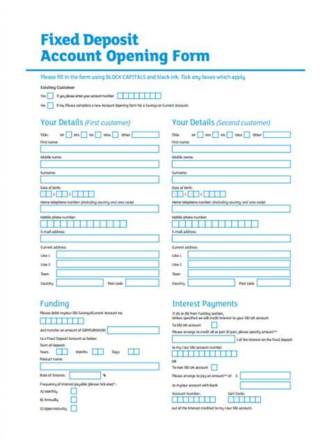 deposit forms   ms word