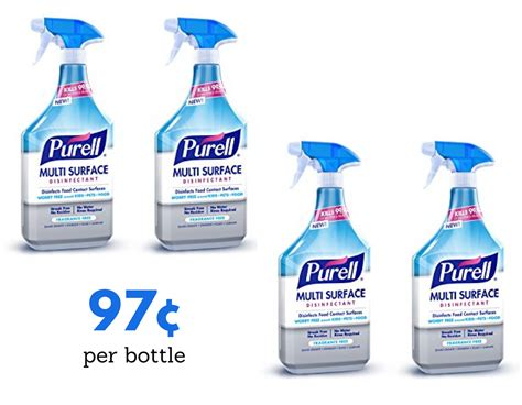 purell surface cleaner   publix southern savers