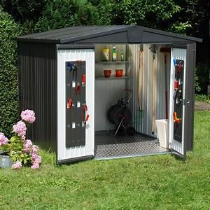 Abri De Jardin Leroy Merlin : abri de jardin m tal europa t4 m ep mm leroy ~ Melissatoandfro.com Idées de Décoration