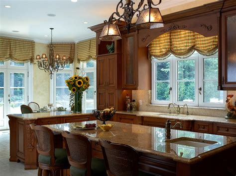 kitchen window treatment valances hgtv pictures ideas