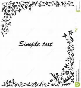 Cadre Noir Et Blanc : cadre noir et blanc simple illustration de vecteur image 41334637 ~ Teatrodelosmanantiales.com Idées de Décoration