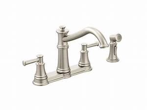 Moen Double Handle Kitchen Faucet Repair Diagram