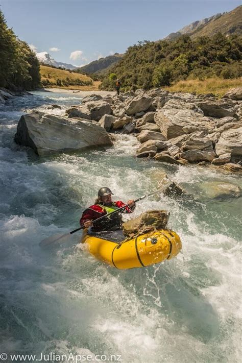 want to try this or find out more go to www.packrafting.co ...