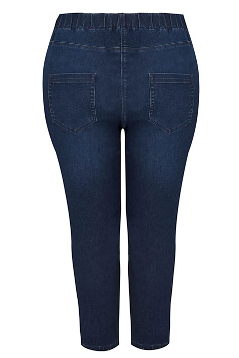 Date Post Jenny Template Responsive dark blue cropped jenny jeggings plus size 16 to 36