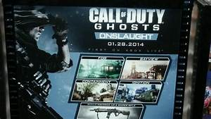 Call of Duty: Ghosts Onslaught DLC info leaks