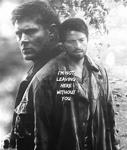 Dean & Castiel Purgatory | Supernatural | Supernatural ...