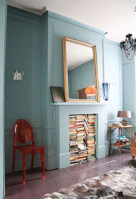 What To Do With A Decorative Fireplace? Unclutterer