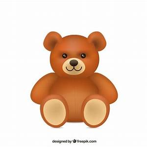 Cute teddy bear Vector | Free Download