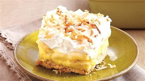 banana coconut dessert recipe from betty crocker