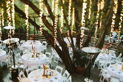 vertical hanging lights for trees weddingbee