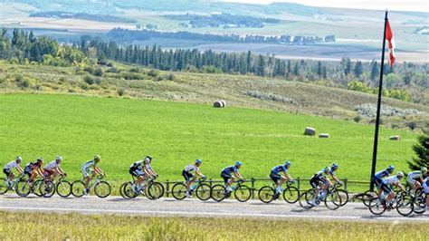 Social distancing is still necessary even when masks are being worn. Tour of Alberta Stage 3 LIVE - Podium Cafe