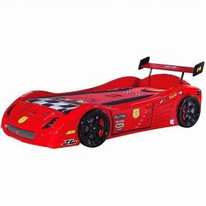 Lit Voiture Garcon : lit voiture gar on v5 lit enfant 90x190 euroimportmoto ~ Melissatoandfro.com Idées de Décoration
