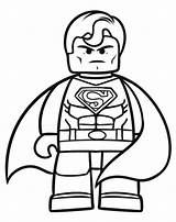 Coloring Superhero Pages Lego Superheroes Clipartmag sketch template