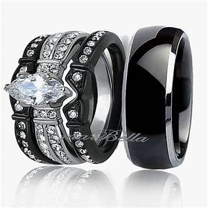 his and her engagement ring sets wolly rings With wedding rings sets for his and her