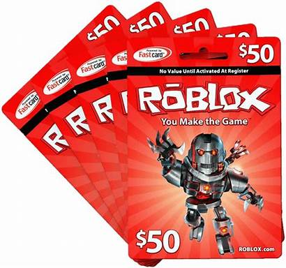 Robux Roblox Codes Card Gift Cards Transparent