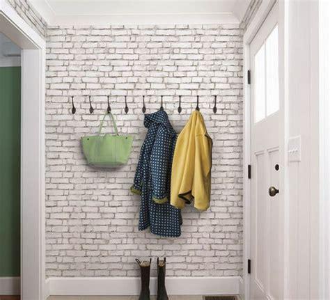 trendy brick wall ideas  entryways digsdigs