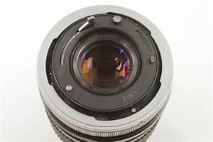 Used Rare Canon Fd 35mm F2 Chrome Nose Lens W   Caps