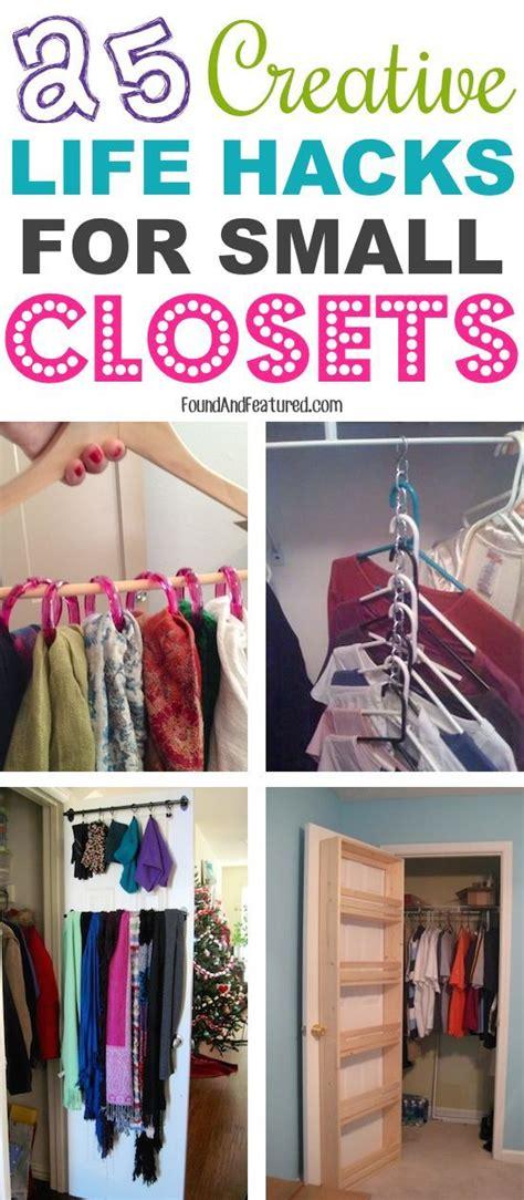 Lots Of Cheap Small Closet Ideas Diy Orgnaization 14