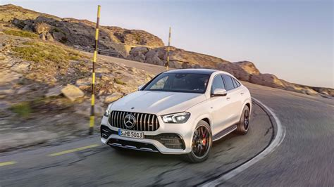 Gallery of 62 high resolution images and press release information. 2021 Mercedes-AMG GLE53 Coupe arrives with electrified style