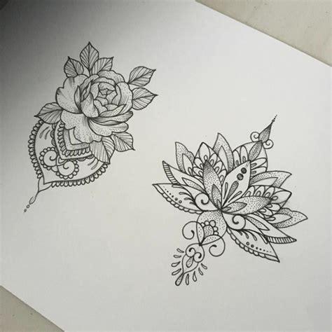disegni di fiori per tatuaggi 1001 idee per tatuaggi mandala immagini a cui ispirarsi