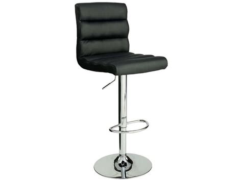 chaises de bar but tabouret de bar city coloris noir vente de bar et