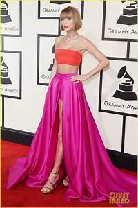 Taylor Swift Rocks Short Hair on Grammys 2016 Red Carpet ...
