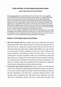 Draft For Research Paper Example   How To Write An Apa