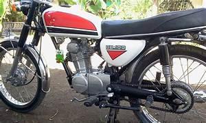 Jual Motor Tua Cb 100 Cb 125 Gl 100 Gl 125  Jual Honda Cb 100 Tahun 1973 Aka Gelatik Orisinil