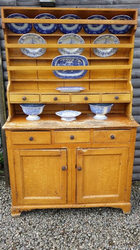 A Rare Scottish Country Kitchen Highland Dresser