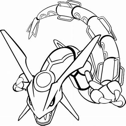 Pokemon Coloring Pages Rare Legendary Getdrawings